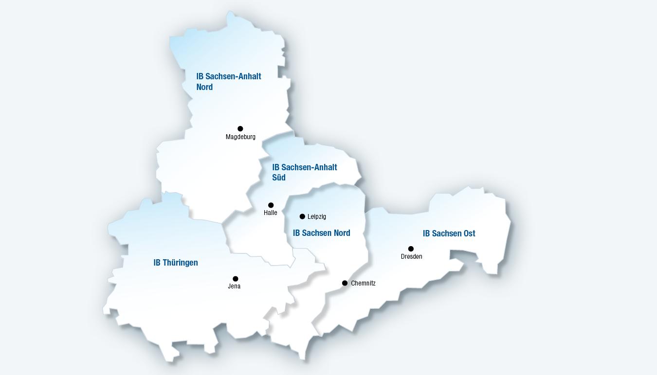 Leipzig Karte Sachsen.Ib Standort Region Sachsen Nord